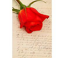 my love Photographic Print