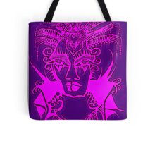 Tattoo - Purple and pink Tote Bag