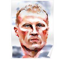 Dennis 'The Iceman' Bergkamp Poster