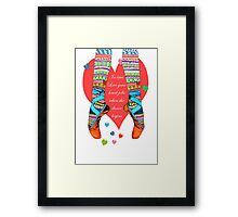 IN TRUE LOVE Framed Print