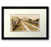 #536       Main Street  U.S.A.  Framed Print
