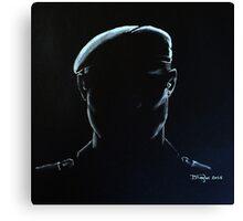Soldier Silhouette Canvas Print