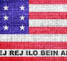 Bikini Atoll Flag Sticker
