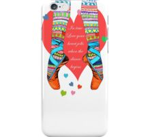 IN TRUE LOVE iPhone Case/Skin