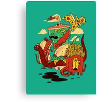 Yumderlizards Canvas Print