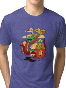 Yumderlizards Tri-blend T-Shirt