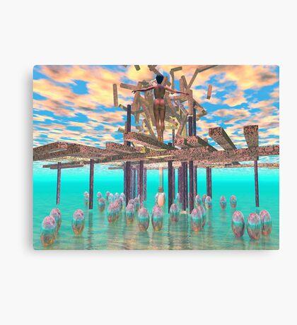Resurrrection - 3D art Canvas Print