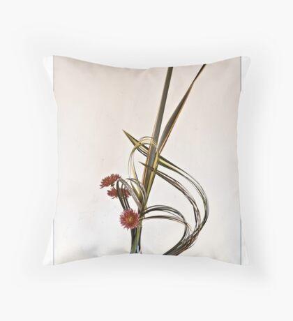 Ikenana-023 Greeting Card Throw Pillow