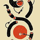 Sushi Snake by mitchloidolt