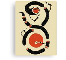 Sushi Snake Canvas Print