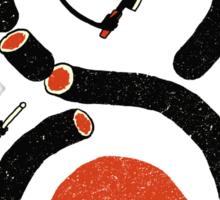 Sushi Snake Sticker