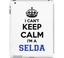I cant keep calm Im a SELDA iPad Case/Skin