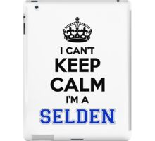 I cant keep calm Im a SELDEN iPad Case/Skin