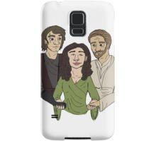 Padme + Jedi boys Samsung Galaxy Case/Skin