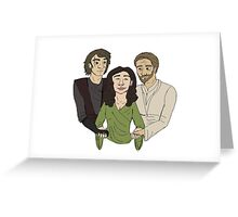 Padme + Jedi boys Greeting Card