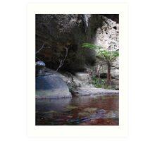 Wards Canyon Art Print