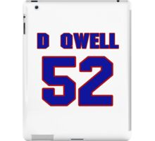 National football player D'Qwell Jackson jersey 52 iPad Case/Skin