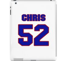 National football player Chris Keating jersey 52 iPad Case/Skin