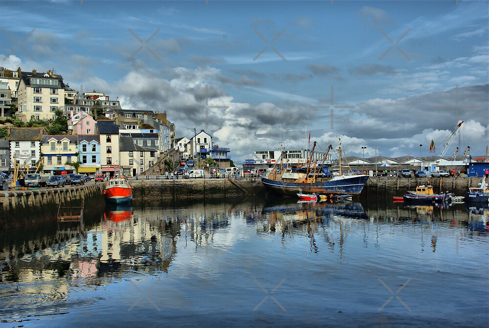 Brixham Harbour by Catherine Hamilton-Veal  ©