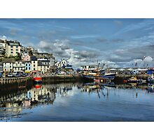 Brixham Harbour Photographic Print