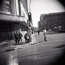 Corner blur by Melissa Ramirez