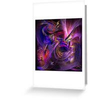 All That Jazz (Square Version) - By John Robert Beck Greeting Card