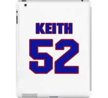 National football player Keith McCants jersey 52 iPad Case/Skin