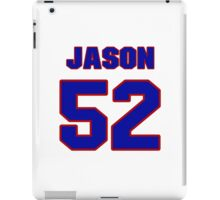 National football player Jason McEndoo jersey 52 iPad Case/Skin