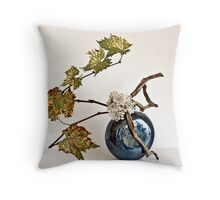 Ikebana-090 Throw Pillow