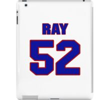 National football player Ray Preston jersey 52 iPad Case/Skin