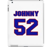 National football player Johnny Rembert jersey 52 iPad Case/Skin