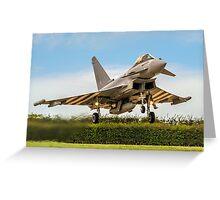 Eurofighter Typhoon FGR.4 ZK308/TP-V Greeting Card