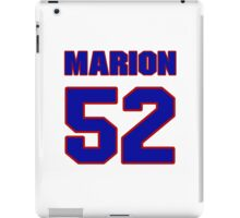National football player Marion Rushing jersey 52 iPad Case/Skin
