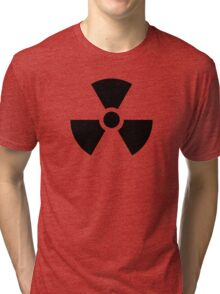 Danger Radioactive decay Tri-blend T-Shirt