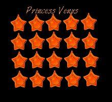 Princess Venus, Sailor Venus, sailor moon Orange star locket  by shesxmagic