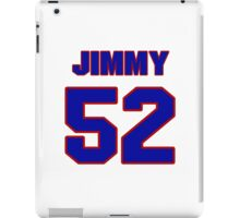 National football player Jimmy Sprotte jersey 52 iPad Case/Skin