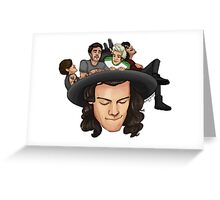Harry's Hat Greeting Card