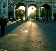 afternoon admiralty arch by Jan Stead JEMproductions