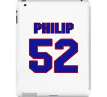 National football player Philip Wheeler jersey 52 iPad Case/Skin
