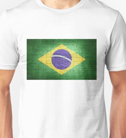 Brazil Flag Unisex T-Shirt