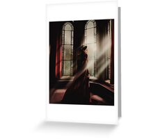 Portrait of a Queen Greeting Card
