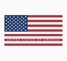 united states of america flag Kids Clothes
