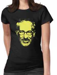Steven Spielberg Monotone Womens Fitted T-Shirt