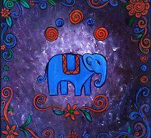 Little Elephant by earthskyart