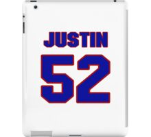 National football player Justin Durant jersey 52 iPad Case/Skin