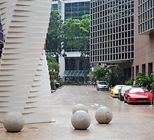nice sculpture, even nicer cars by andrew3294