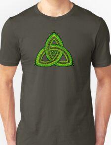 Celtic Clover Trinity Knot Triquetra T-Shirt