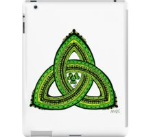 Celtic Clover Trinity Knot Triquetra iPad Case/Skin