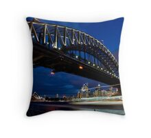 Harbour Traffic Throw Pillow