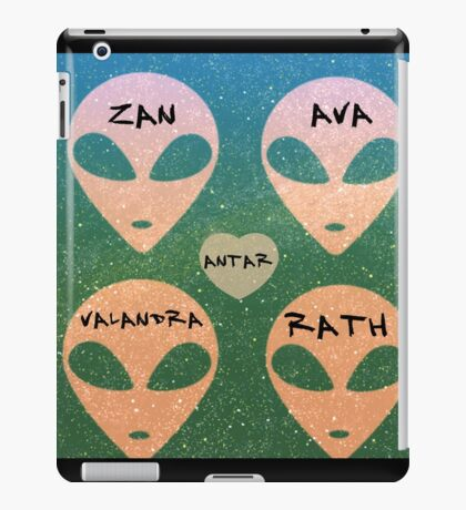 Roswell Aliens Tv Show Past Life iPad Case/Skin
